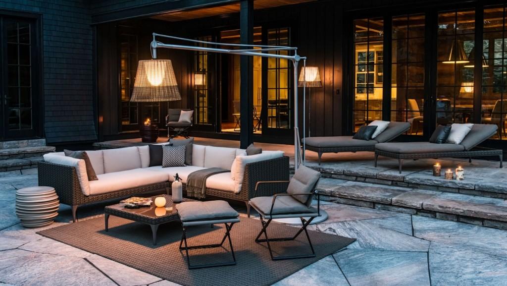loungemöbel - 3 looks für terrasse und garten - designblog, Garten Ideen