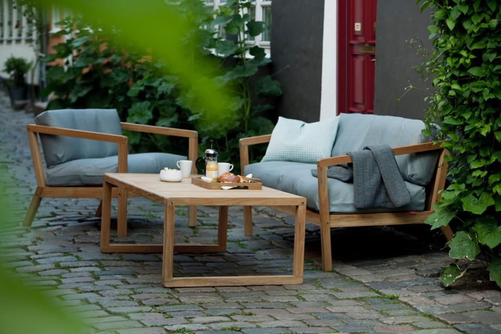loungemöbel - 3 looks für terrasse und garten - designblog, Garten und Bauen
